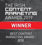 Best Content Marketing Award - B2B