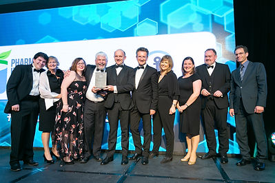DIT & GetReSkilled - Pharma Industry Awards 2018 winners