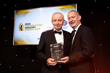 Eamon Booth, Construction Industry Leader 2019 recipient - Irish Construction Awards 2019