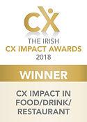 CX Impact in Food/Drink/Restaurant