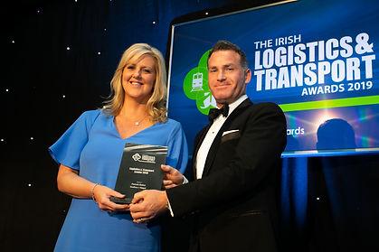 Pamela Quinn - Irish Logistics & Transport Awards 2019 recipient