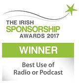 Best Use of Radio or Podcast winner logo