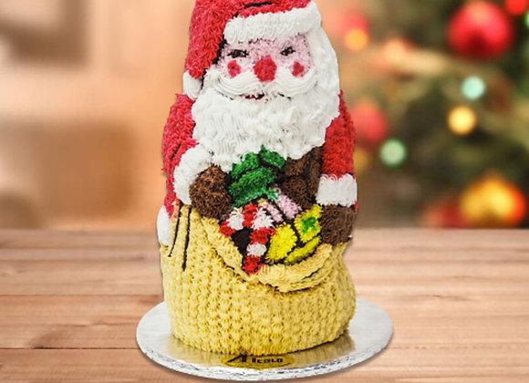 Torta de Papá Noel