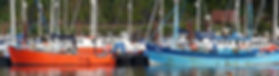 Fishing boats on The River Dart