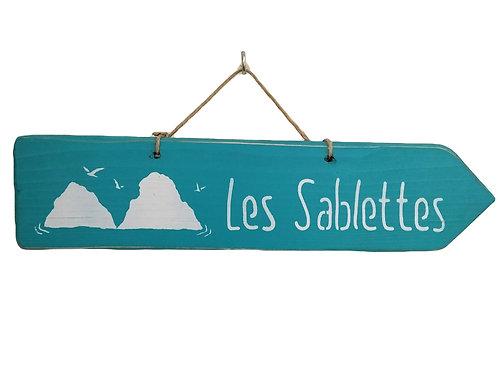 PANCARTE les Sablettes