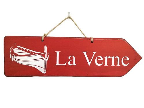 PANCARTE FLECHE La Verne