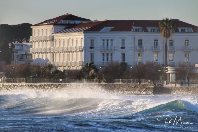 Le Grand Hôtel des Sablettes plage