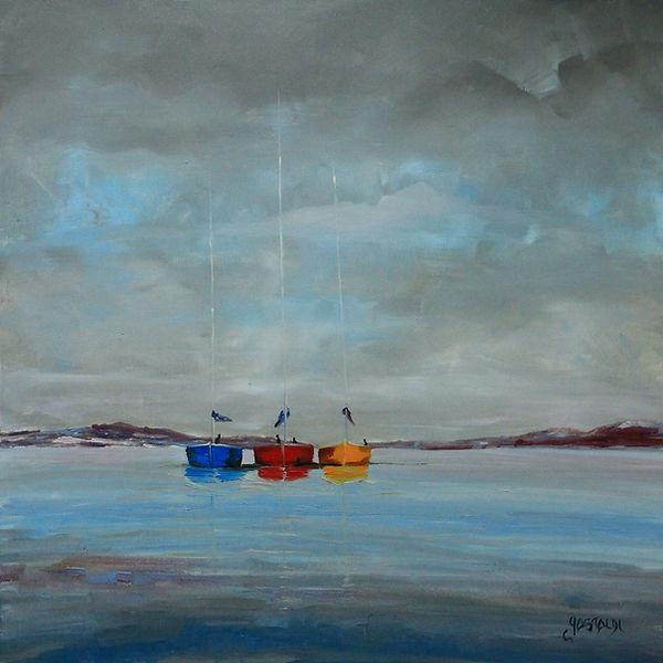 bateaux au mouillage Christophe Gastaldi