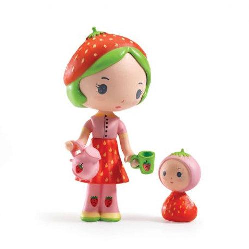 Figurine  TINYLY - Berry et Lila la fraise