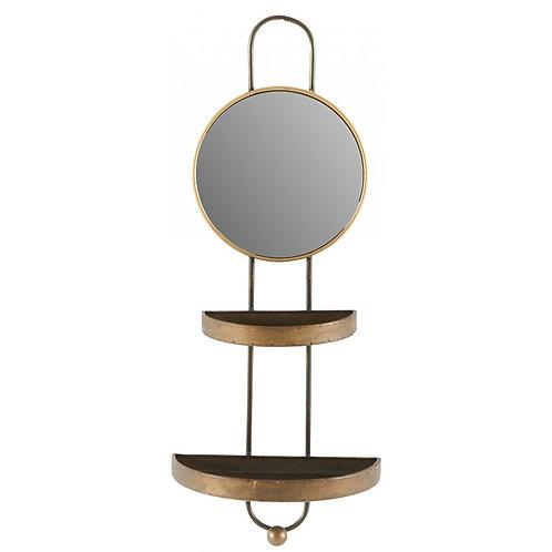 Etagère miroir