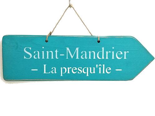PANCARTE FLECHE Saint Mandrier