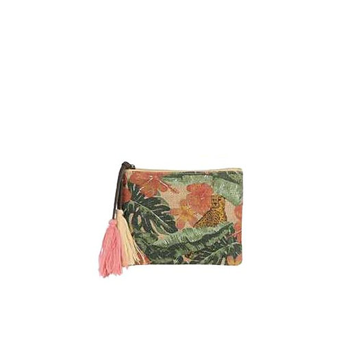 Pochette esprit jungle
