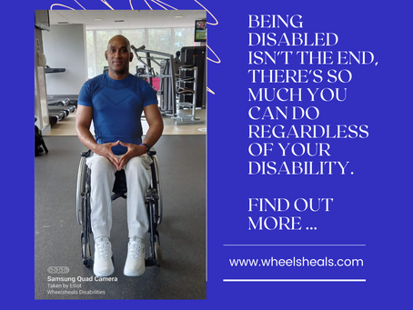 Don't let your disability keep you back