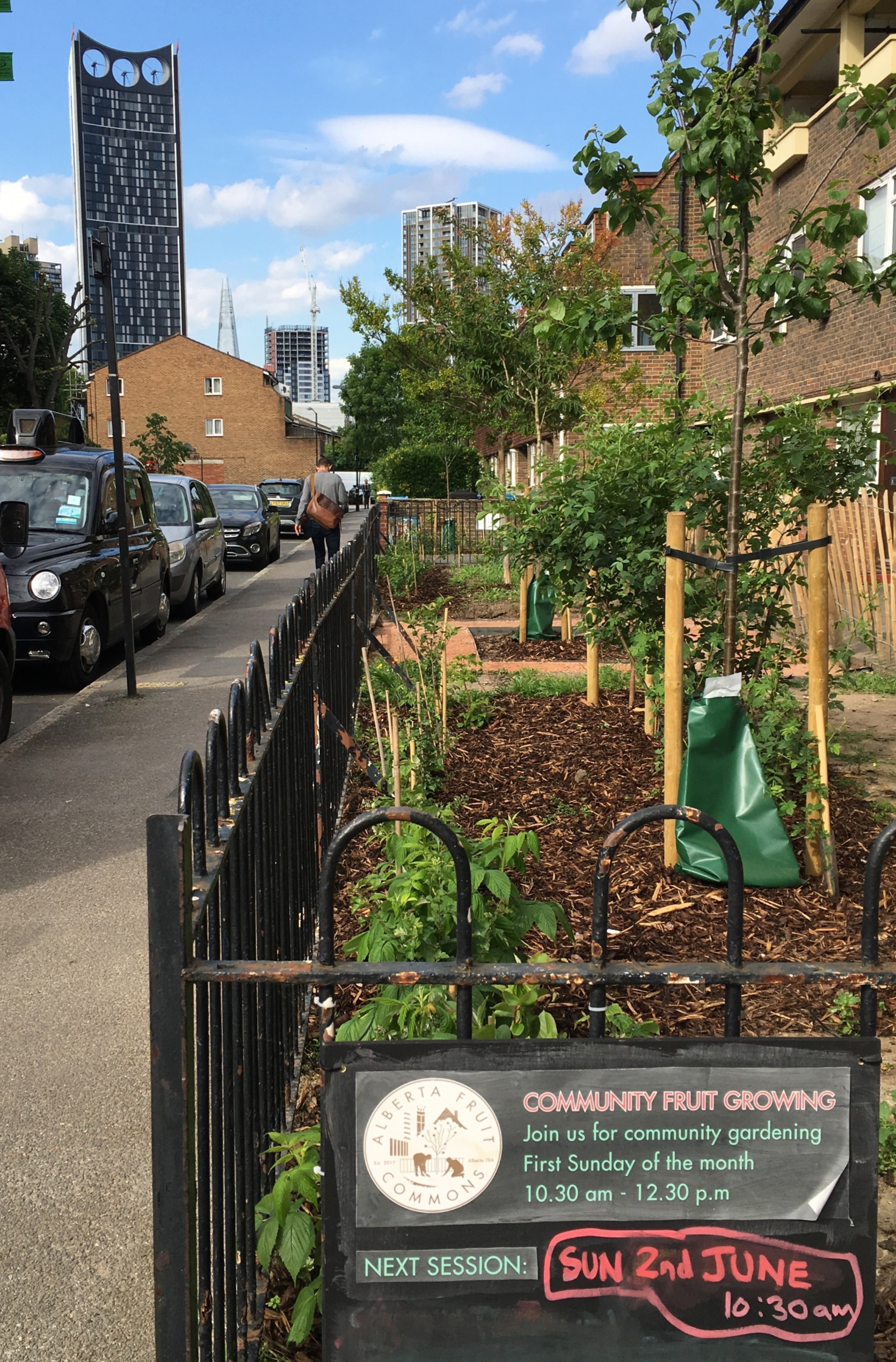 Walworth Community fruit gardens