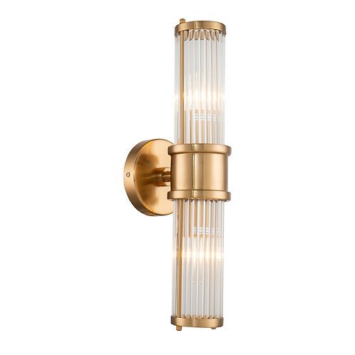 Liang and Eimil Preston wall light in antique brass