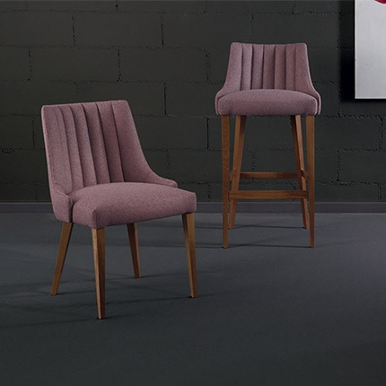 Gorgeous Fluted Back Chairs