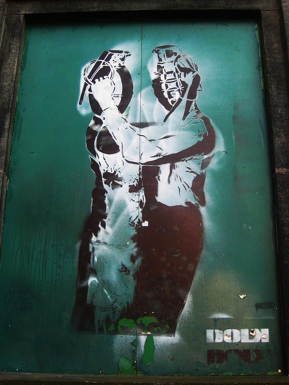 DOLK, Grenade Lovers (2007). Courtesy: Artsy