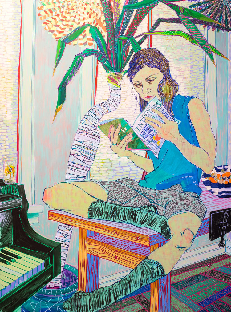 Hope Gangloff, Couch Surfer (2015). Courtesy: Hope Gangloff