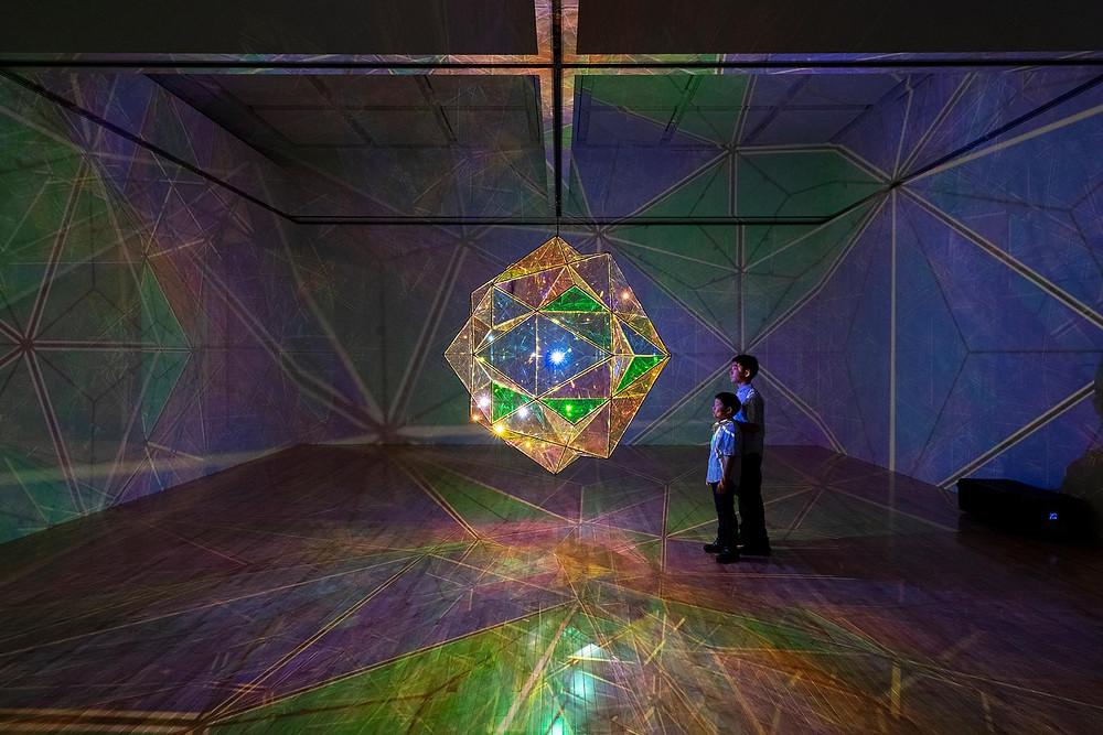 Olafur Eliasson, The exploration of the centre of the sun (2017). Courtesy: Studio Olafur Eliasson (Photograph by Kazuo Fukunaga)