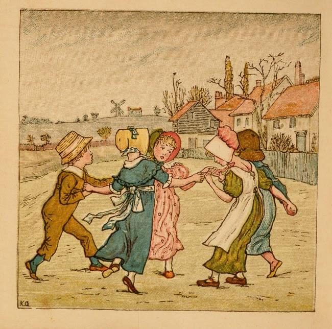From Kate Greenaway's Birthday Book for Children (1880). Courtesy: David Brass Rare Books