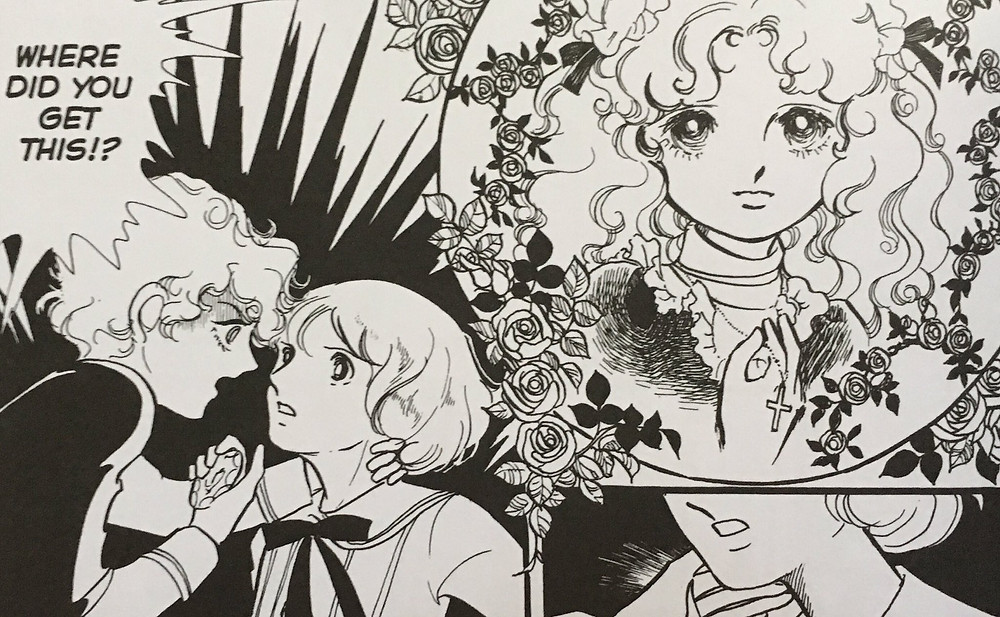 "A strip from the first volume of ""The Poe Clan"" by Moto Hagio, who received the 2016 Asahi Prize for Arts for her contribution to the art of manga. Courtesy: Gregory Kimbrell on Twitter"