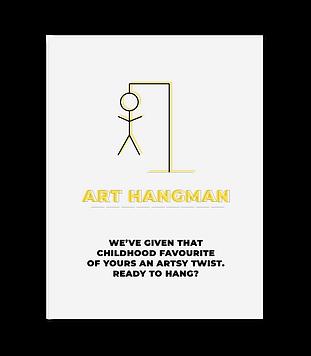 art games, art hangman, hangman