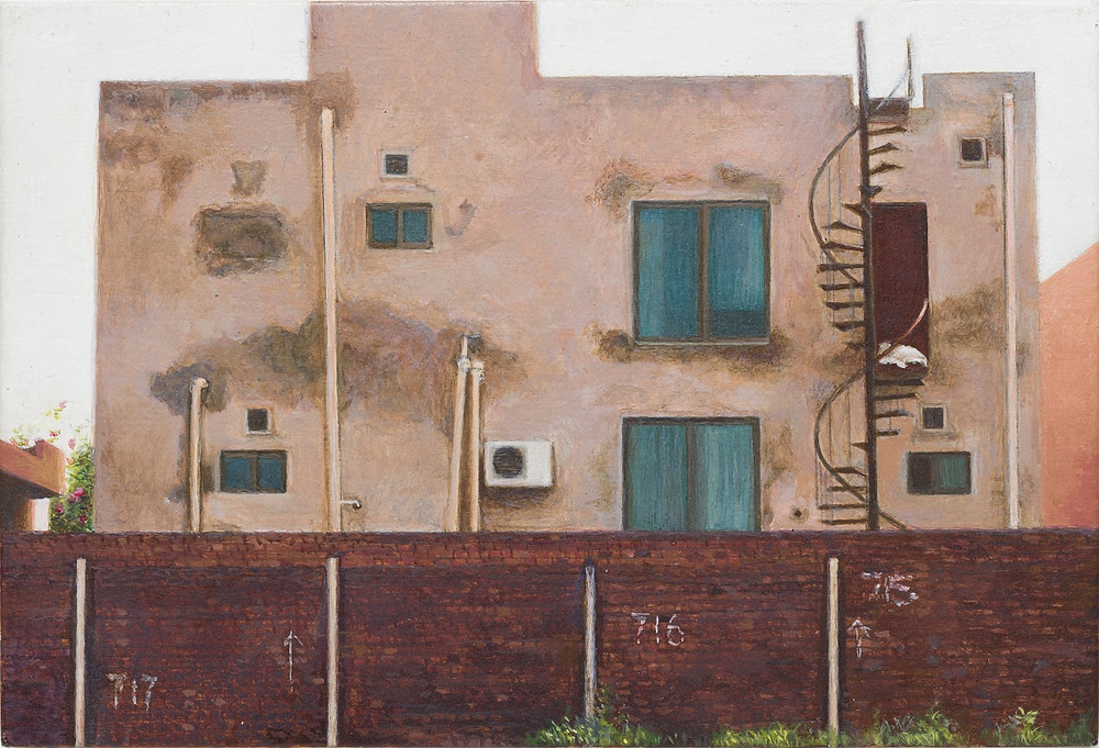 Risham Syed's work (Untitled 4 from 'Lahore' series). Courtesy of Google Arts & Culture.