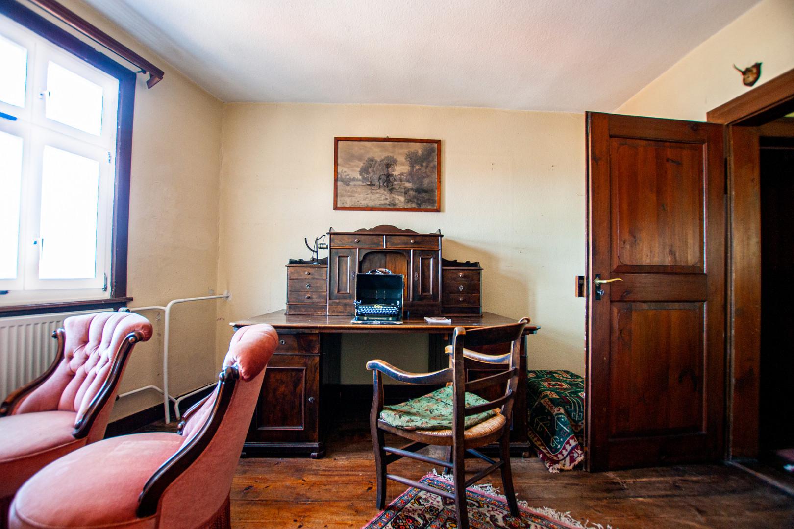 Herrenzimmer mit derben Charme