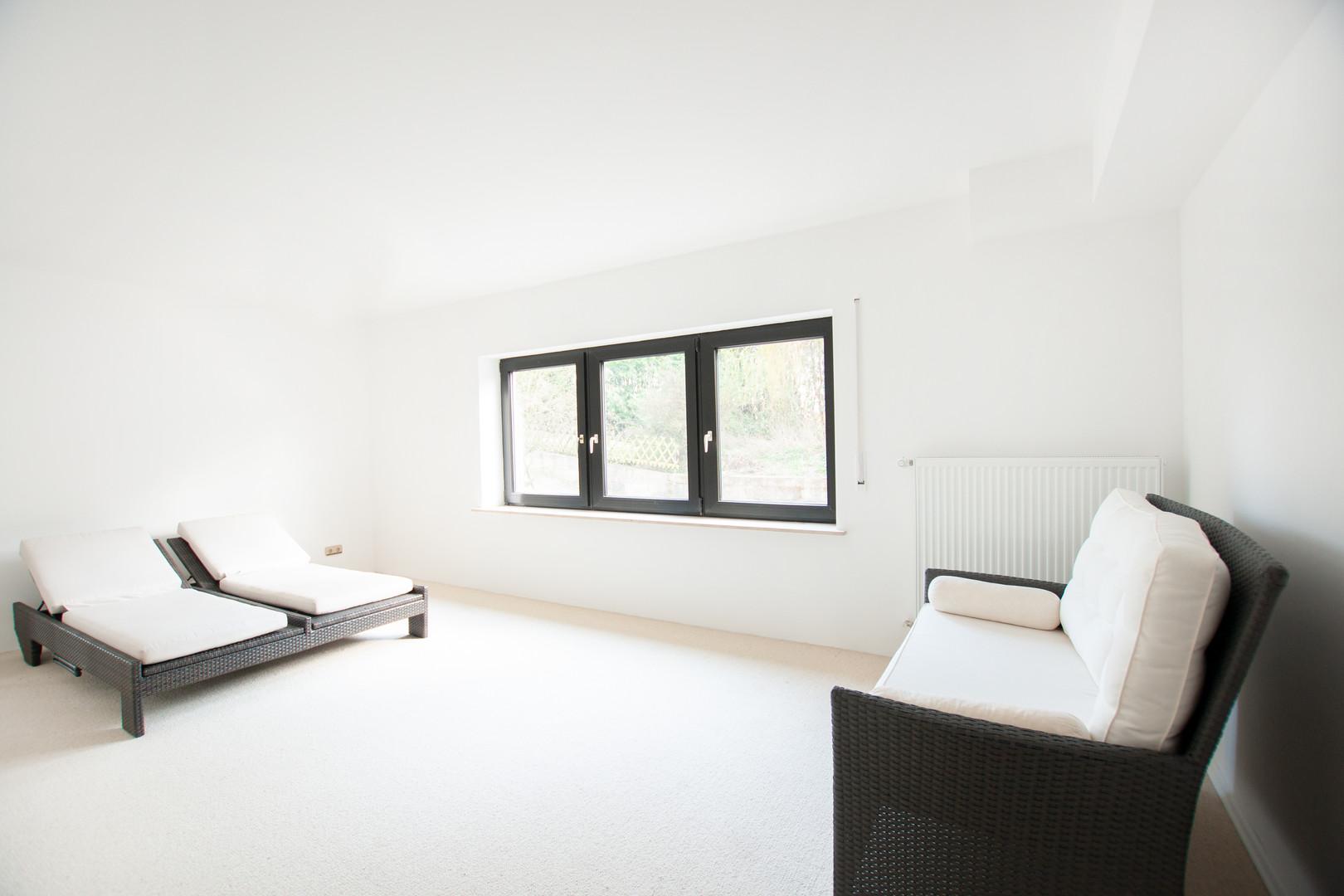 Schlafzimmer der Wohnung im Untergeschos