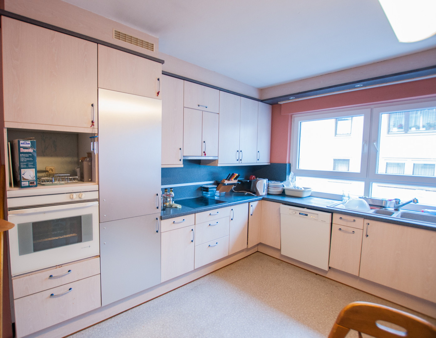 Obergeschoss - Küche. mit Einbauküche