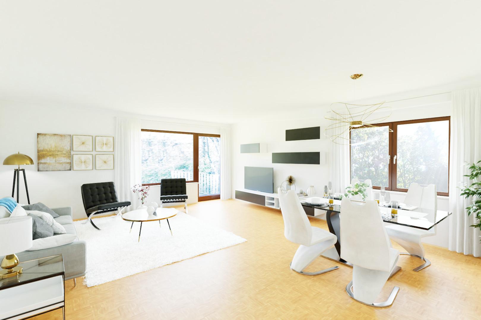 virtuelles Home Staging Würzburg Frauenl
