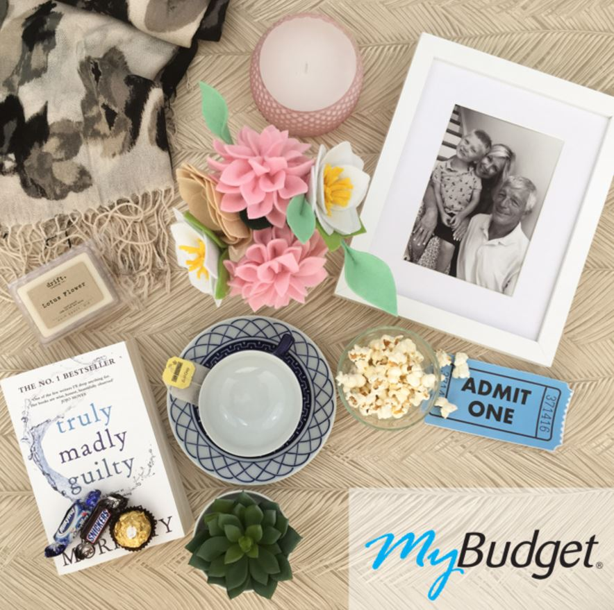 Flat-lay photography for MyBudget