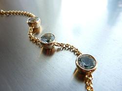Aquamarin bracelet