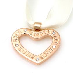 Gold heart