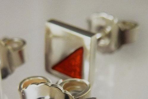 Orienteering earrings (light) 1 pc NOT a pair