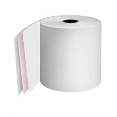Kitchen Printer Rolls 2Ply White/Pink