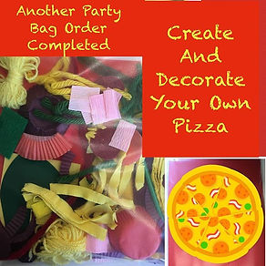 We have such fun making party bags. £1 p