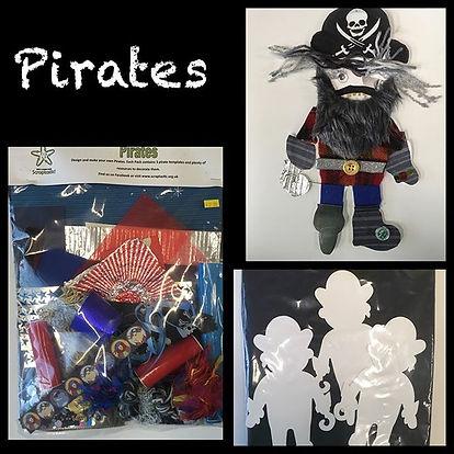Pirate Craft Packs