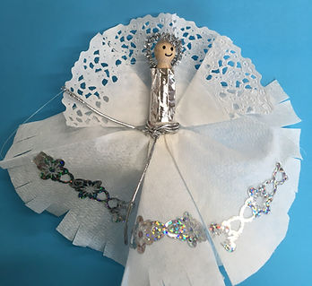 Peg Doll Angel Childrens Craft