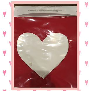 Valentines day love heart craft pack