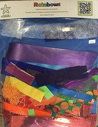 Scraptastic Rainbow Craft Pack