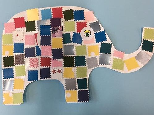 Patchwork Elephants