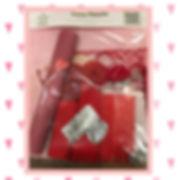 love heart craft pack