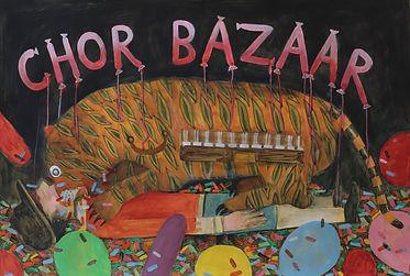 'Chor Bazaar' 2021 [painting]