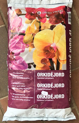 Orkidéjord