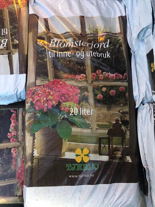 Blomsterjord 20L