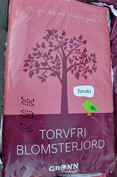 Torvfri Blomsterjord 10L
