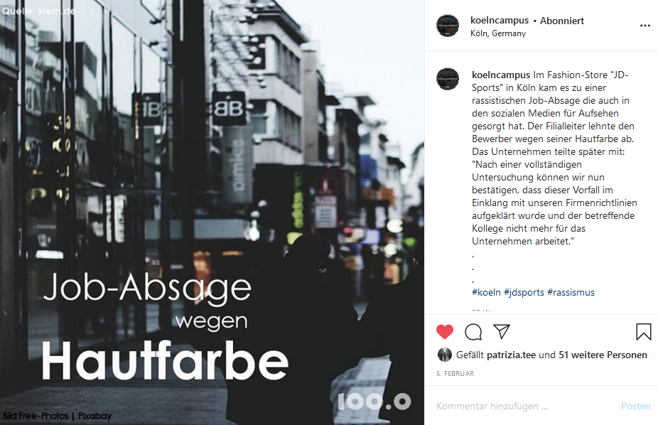 Arbeitsprobe_Kölncapmus_Jobabsage