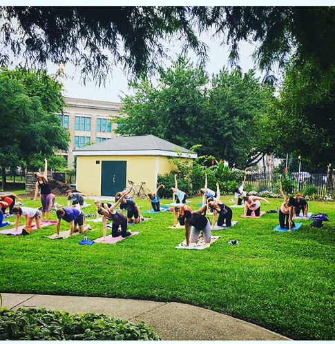 Have an event that you would like to bring yoga to?