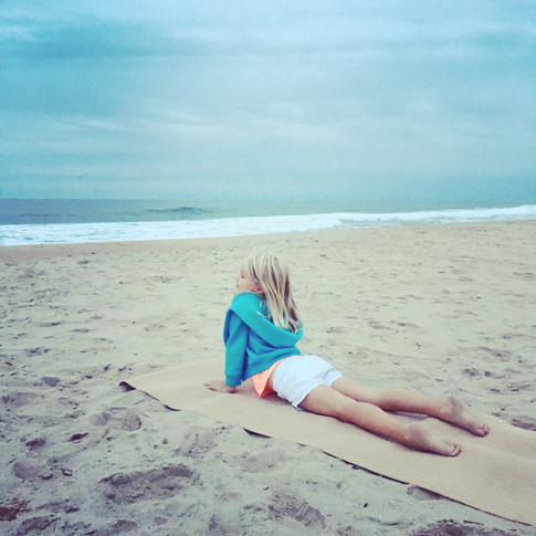 Kids + Nature + Yoga = Bliss